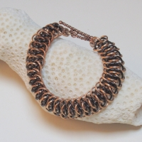 Chainmail armband, Viperscale