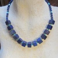 Lapis lazuli en turkoois