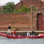 Venetiaans roeien, dit zijn duidelijk geen professionals